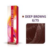Wella Color Touch Deep Browns 6/75 Dunkelblond Braun Mahagoni
