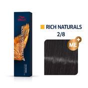 Wella Koleston Perfect Rich Naturals 2/8 Blauschwarz, 60 ml