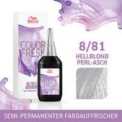 Wella Color Fresh Silver 8/81 Hellblond Perl Asch, 75 ml