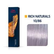 Wella Koleston Perfect Rich Naturals 10/86 Hell Lichtblond Perl Violett, 60 ml