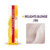 Wella Color Touch Relights Blonde /86 Perle violet