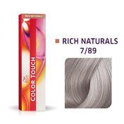 Wella Color Touch Rich Naturals 7/89 Blond moyen perle cendré