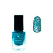 Juliana Nails Glitter Nagellack blue feelings, Flasche 12 ml