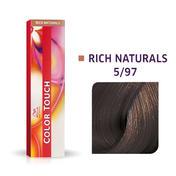 Wella Color Touch Rich Naturals 5/97 Hellbraun Cendré Braun
