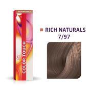 Wella Color Touch Rich Naturals 7/97 Mittelblond Cendré Braun