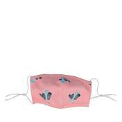 PARSA Waschbare Mund- und Nasenmasken für Erwachsene Rosa/Blau Kaktus