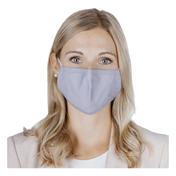 PARSA Waschbare Mund- und Nasenmasken für Erwachsene Grau/Blau Uni
