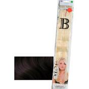 Balmain Fill-In Extensions Straight 1/2 Black/Dark Brown