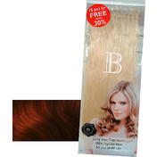 Balmain Fill-In Extensions Value Pack Natural Straight 133/33 Dark Copper Blond/Light Chestnut Brown