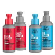 TIGI BED HEAD Set, Shampoo + Conditioner, sortiert (Resurrection/Recovery), ein Set