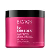 Revlon Professional Be Fabulous Daily Care Normal/Thick Hair C.R.E.A.M. Mask 500 ml