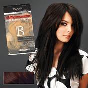 Balmain Extensions Soft Blend Weaving 40 cm 4/8 brun medium / blond coco foncé