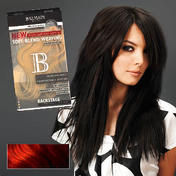 Balmain Extensions Soft Blend Weaving 40 cm aubergine / rouge